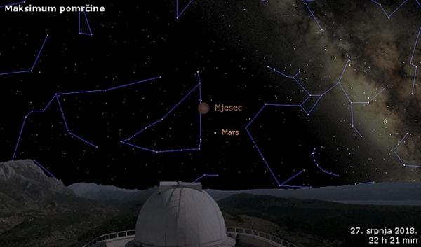 Moon Eclipse Zvjezdano Selo Mosor